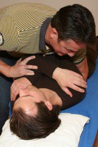 Een blokkade in uw rug is in veel gevallen op te lossen.